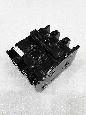 Qc3015h Cutler Hammer 3pole 15amp 240v Circuit Breaker New