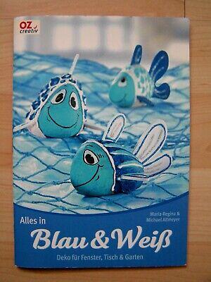 s in Blau und Weiß Dekoration für Fenster Tisch Garten (Blau Und Weiß-dekoration)