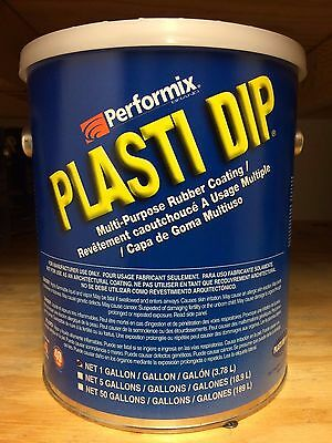 Performix Plasti Dip- 1 Gallon Matte Black Dip