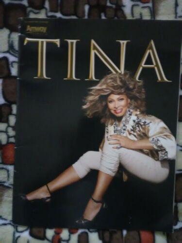 TINA TURNER 2008 50th ANNIVERSARY N. AMERICA TOUR CONCERT PROGRAM BOOK