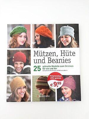 Mützen, Hüte und Beanies | 25 schnelle Modelle zum Stricken | Glowik MacDonald Hüte Und Mützen