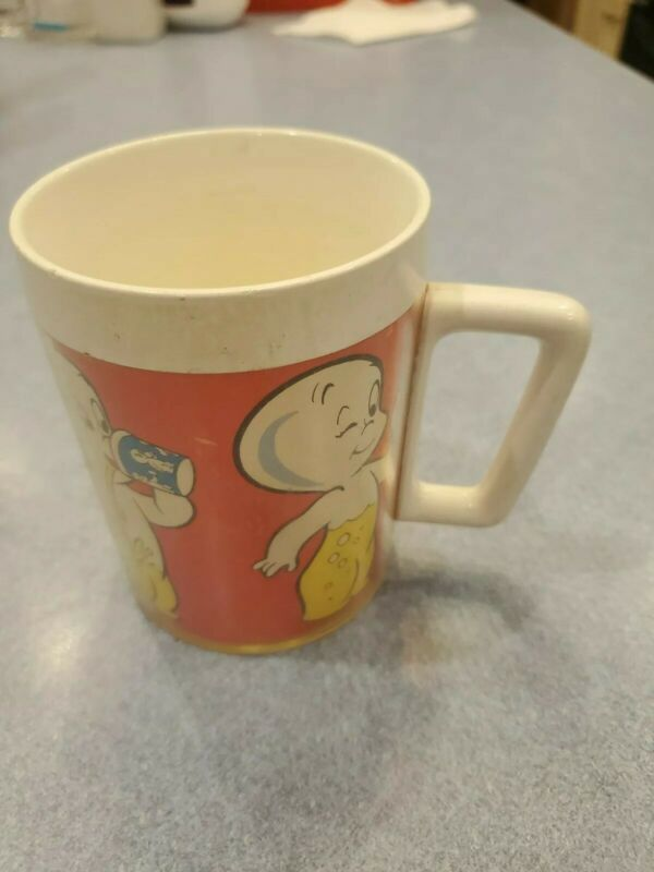 VTG Casper The Ghost Insulated Coffee Cup Mug