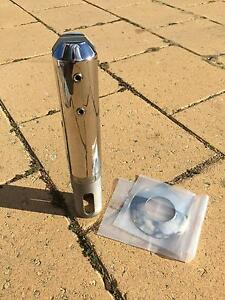 Core drill spigot friction clamp mini post for glass pool fencing Glendalough Stirling Area Preview
