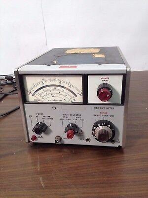 Hp 415d Agilent 415d Swr Meter Standing Wave Ratio Meter