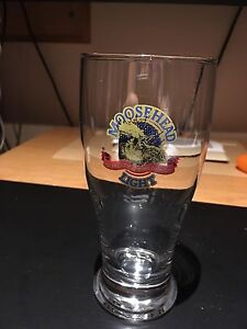 Moosehead lager beer glass brand new