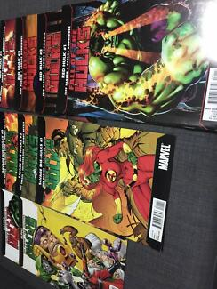 Bulk Lot Collection of Marvel Incredible Hulk Comic Books