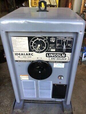 Lincoln Idealarc Tm500500