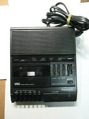 Panasonic Rr-830 Vsc Cassette Transcriber Player Recorder