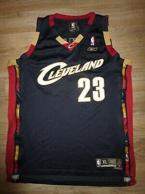 LeBron James #23 Cleveland Cavaliers NBA Finals Reebok Jersey XL mens