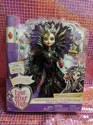 """EVER AFTER HIGH TOYS""""R""""US TRU EXCLUSIVE STYLE SPELLBINDING RAVEN QUEEN DOLL"""