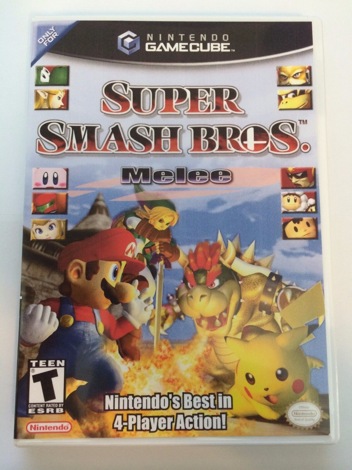 как выглядит Super Smash Brothers Melee - Gamecube - Replacement Case - No Game фото