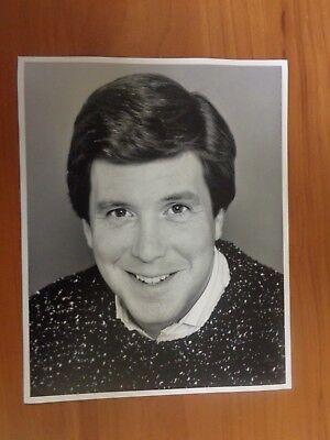 Vintage Glossy Press Photo Wbz Tv News Anchor David Wittman