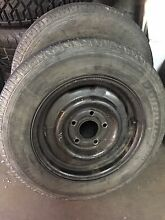 14inch trailer wheels 5x120 Rostrevor Campbelltown Area Preview