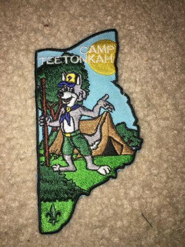 Boy Scout BSA Camp Teetonkah Half Wolf Head Land O