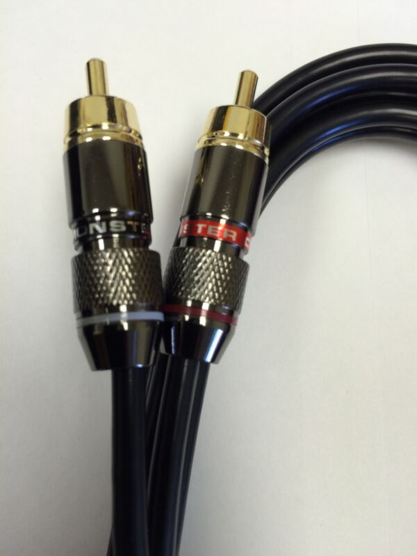 technics 1200 turntable Monster RCA cable W/ Ground Wire Upgrade mk2 m3d mk5 DJ