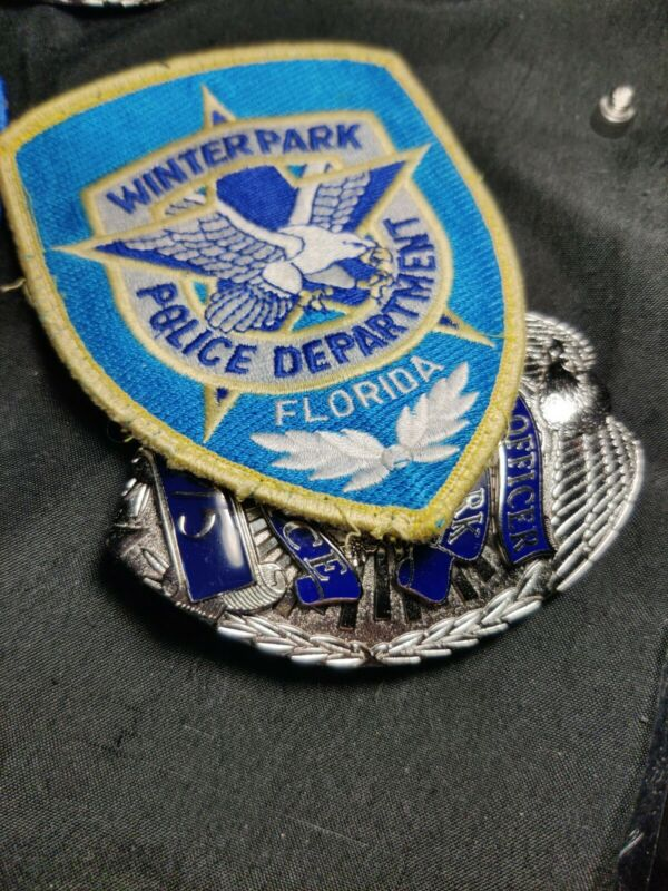 Obsolete Defunct PD Badge. Awesome find. Questions Please Ask