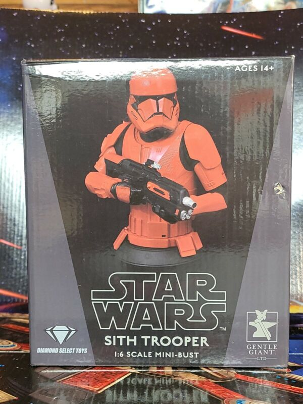 """Star Wars Sith Trooper 6"""" Mini-Bust. Limited to 2000 Pieces. Box is Not Mint New"""