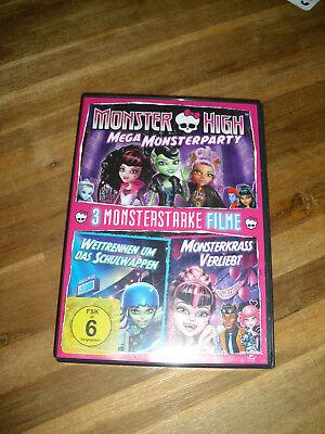 3er DVD Set Monster High, Kinderfilm, Kinder DVD, Zeichentrickfilm ()