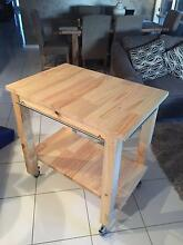 Solid Kitchen Trolley and other items Handmade in North Lakes Mango Hill Pine Rivers Area Preview