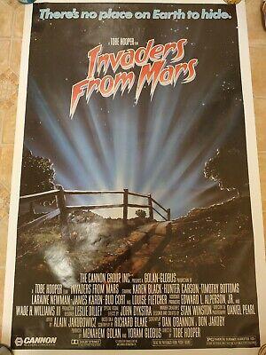 Tobe Hooper's Invaders From Mars - Original movie Poster