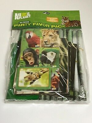 Animal Planet 56 Pieces Party Favor Pack -- - Animal Planet Party Supplies