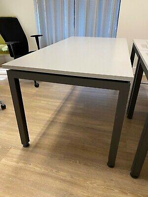 Herman Miller Grey Desk - VERY EXPENSIVE NEW + pedestal - multiple available