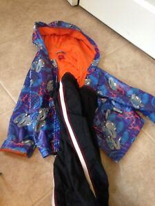 Cars rain jacket