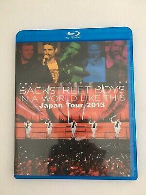 Backstreet boys in a world like this japan tour Blu-ray Disc New comprar usado  Enviando para Brazil