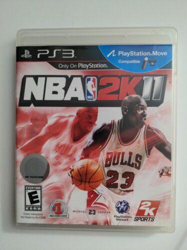 NBA 2K11 Sony PlayStation 3, 2010 Complete CIB  - $9.99