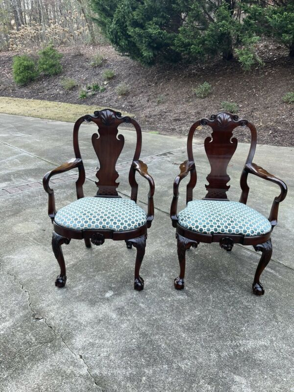 Kindel Winterthur Philadelphia Arm Chairs (2)