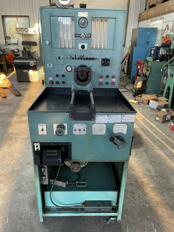 Bacharach YLR 5 hp diesel injection test pump stand
