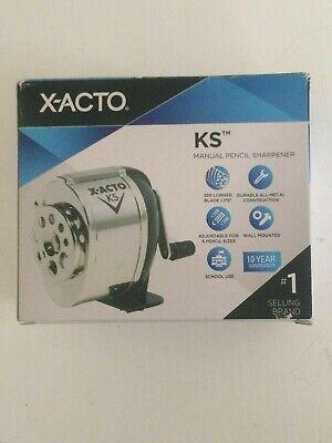 X-acto Ks Manual Classroom Pencil Sharpener Counterwall-mount 079946010312