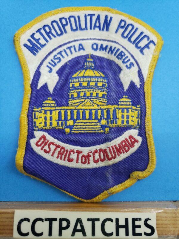 WASHINGTON DC DISTRICT OF COLUMBIA METROPOLITAN POLICE SHOULDER PATCH DC