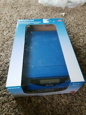 Brecknell Ps25 Electronic Usb Or Battery Postal Scale 25 Lb Capacityblue New.