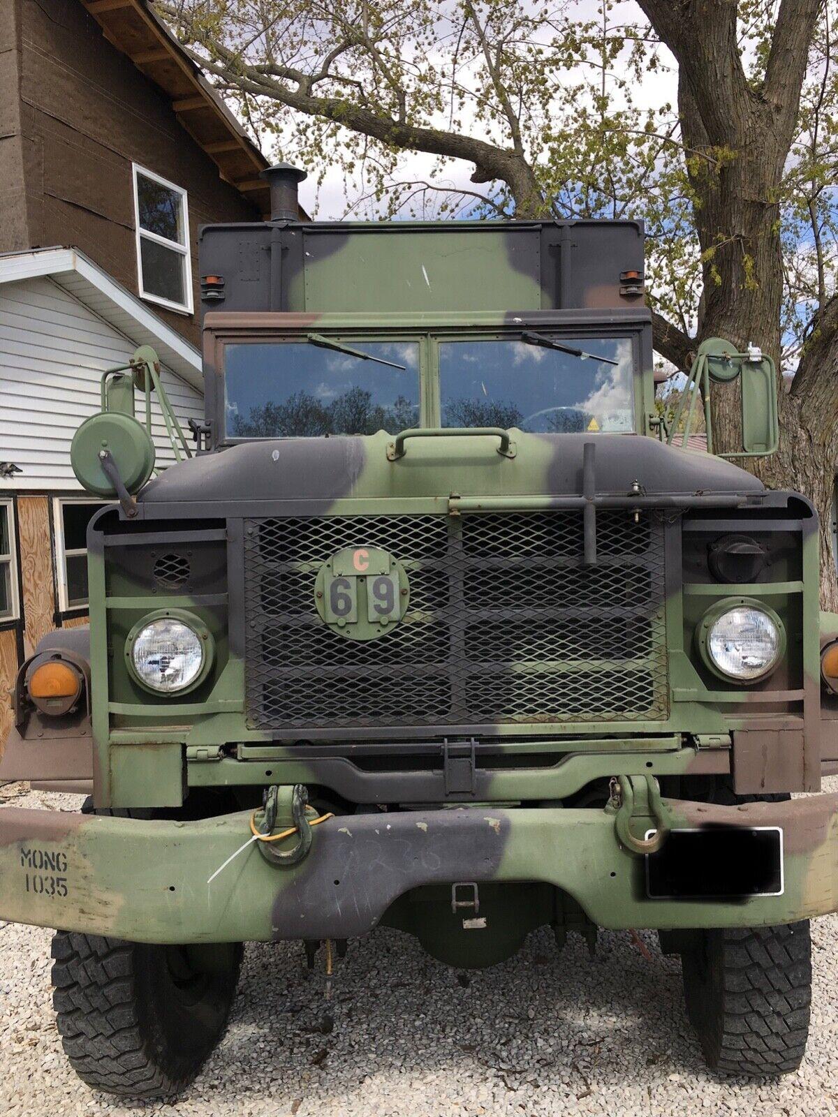 1984 AM General M934 5 Ton With Expandable Command Unit Box