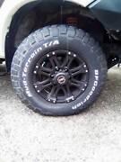 4x BFG tyres n rims Ravenshoe Tablelands Preview