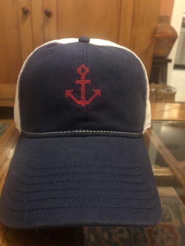 new men s anchor logo baseball cap