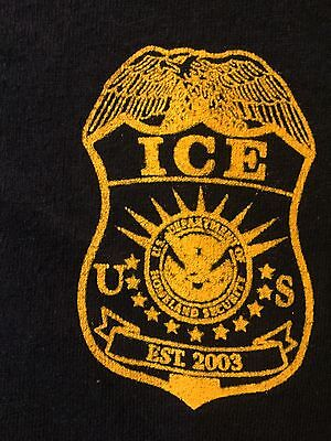 NEW! ICE Federal Law Enforcement Tactical Raid Shirt Tshirt Immigration