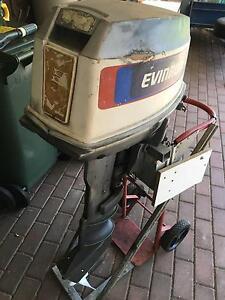 Evinrude 25hp Long Shaft Motor Pooraka Salisbury Area Preview