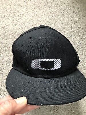 Oakley New Era Black And White 59fifty Hat (7 1/8-56.8cm/New)