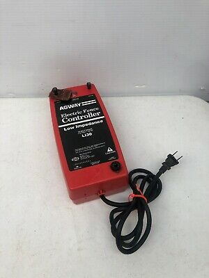 Rare Vintage Agway Low Impedence Electric Fence Controller L130