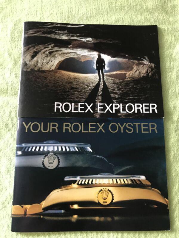 Rolex Vintage 1987 Explorer Booklets Set. USA English❗️