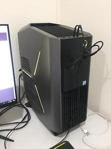 ALIENWARE AURORA PC desktop 1080ti 32gb Ram