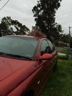 2002 Holden Berlina Sedan series II commodore Melbourne CBD Melbourne City Preview