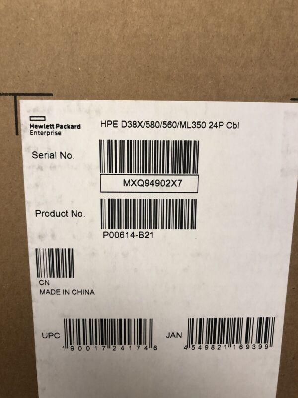 HPE DL38X/560/580/ML350 Gen10 P824i-p Cable Kit Storage G10 ProLiant Server SAS