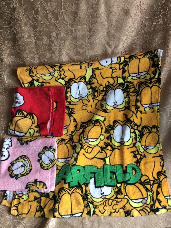 Garfield Towel (3pcs)