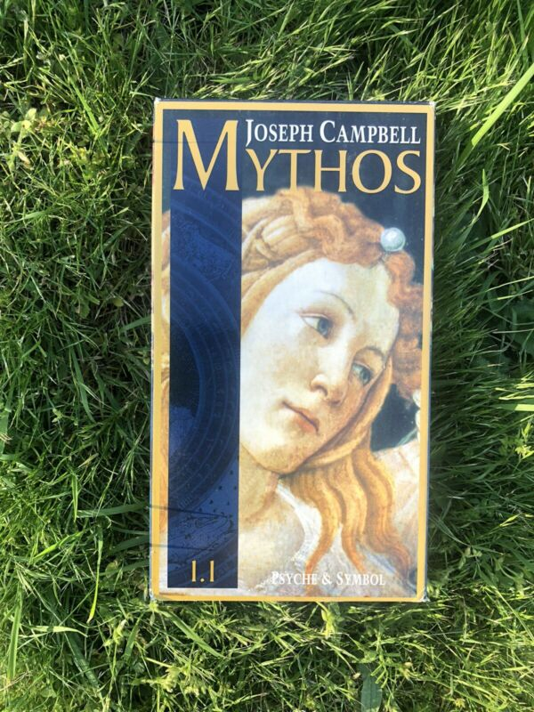 Mythos Volume 1.1 Psyche And Symbol Joseph Campbell VHS