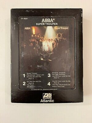 ABBA  Super Trouper  8 Track Tape