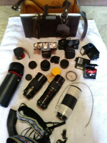 Vintage Lot of 35mm Camera