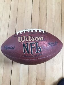Wilson official NFL Composite leather football